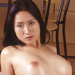 Oiled Thai babe