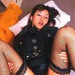Cute Japanese office girl stripping and gets banged hard here
