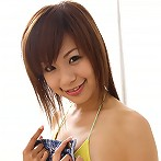 Energetic asian chick looks playful and erotic in her costumes