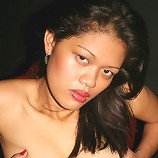 Thick and Sexy Filipina girl strips off black bikini