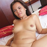 Horny Filipina MILF enjoys young cock in her pussy