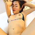 Asian amateur shows off cute ass and gets fucked