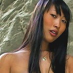 Sharon Lee nude in a cave