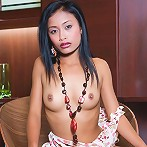 4 foot 6, 72 lbs Teen Thai girl shows that she has all the sexy curves